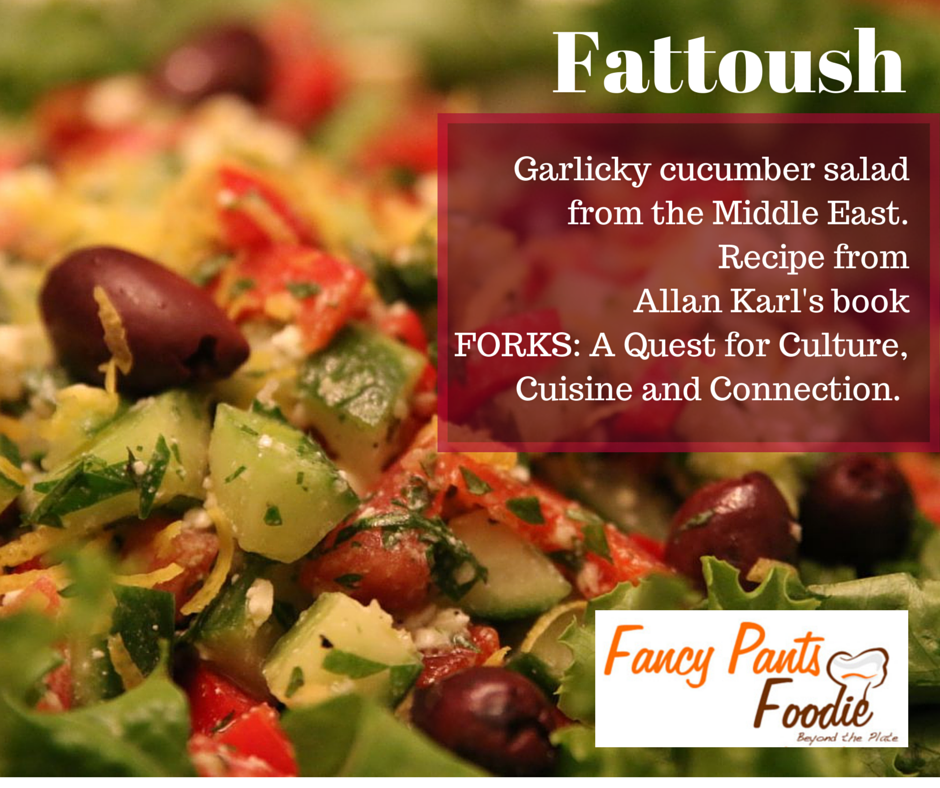 Fattoush FB image words