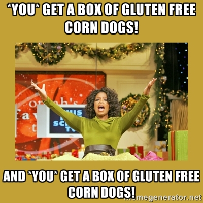 Oprah of corn dogs